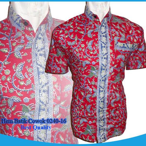 Model Baju Modern Ku Hem Batik Cowok 0240 16 Model Baju Modernku