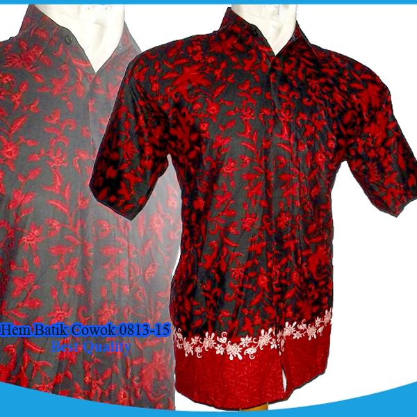Model Baju Modern Ku Hem Batik Cowok 0813 15 Model Baju Modernku