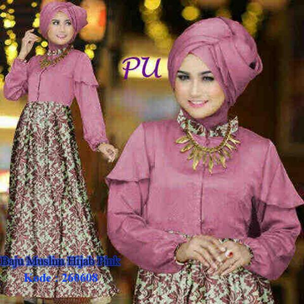 Model Baju Modern Ku Baju Muslim Hijab Pink Model Baju Modernku