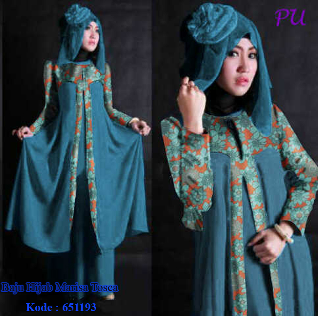 Model Baju Modern Ku Baju Hijab Marisa Tosca Model Baju Modernku